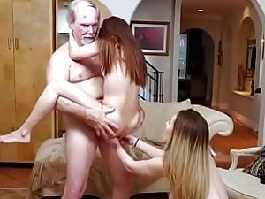 Teen trannies and horny daddy - family porn tube